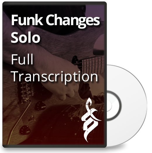 Funk Changes Solo: Full Transcription