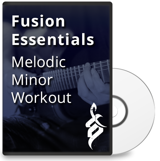 Fusion Essentials: Melodic Minor Workout - Full Transcription