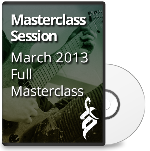 Tom Quayle Masterclass March 2013